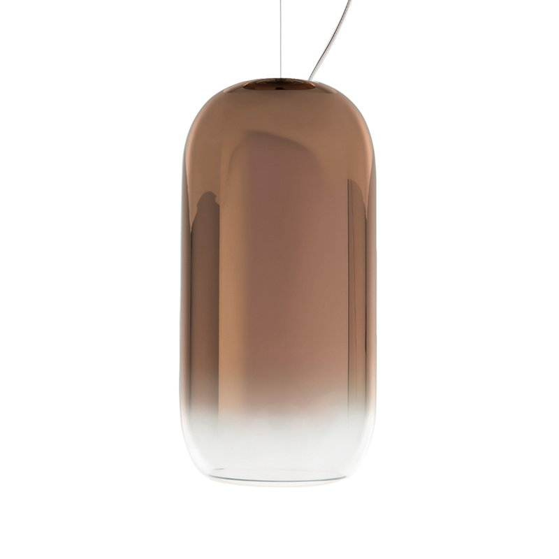 Artemide Gople Mini pendant, bronze