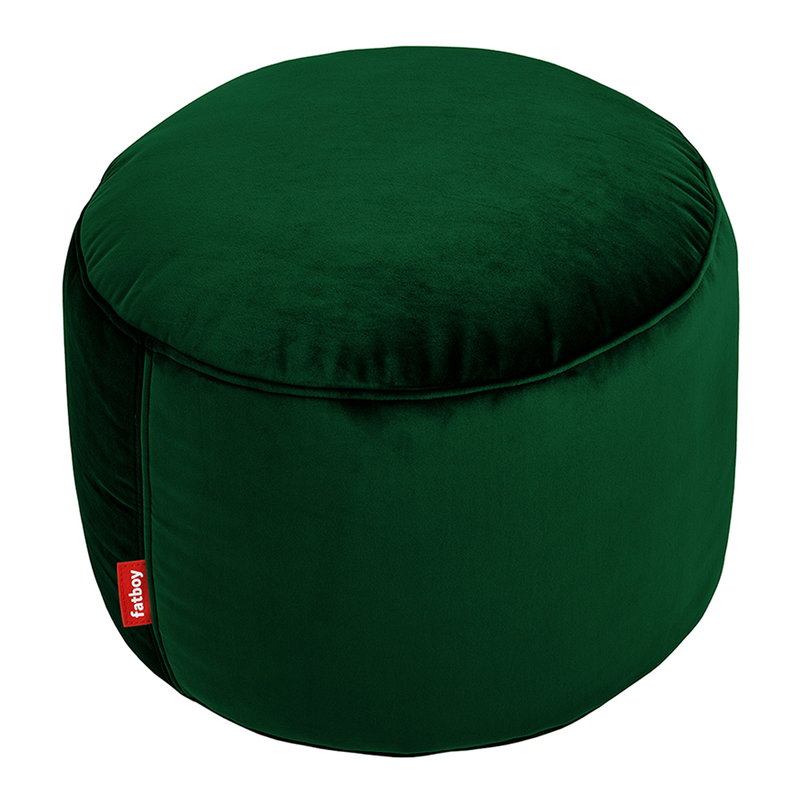 Fatboy Point Velvet pouf,  emerald green