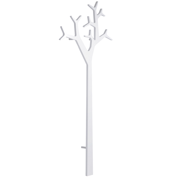 Swedese Tree wall coatrack 194 cm, white