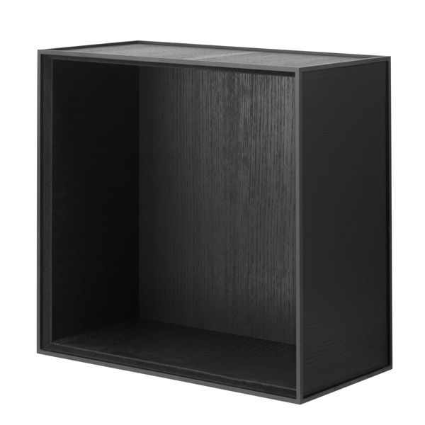 By Lassen Frame 42 box, black stained ash
