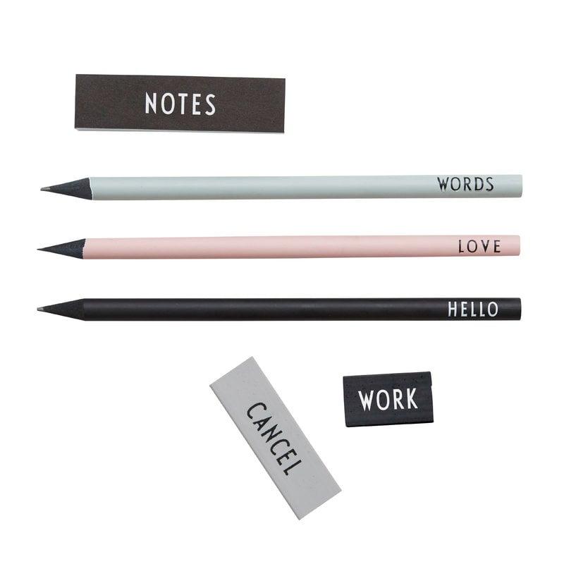 Design Letters Pencil set