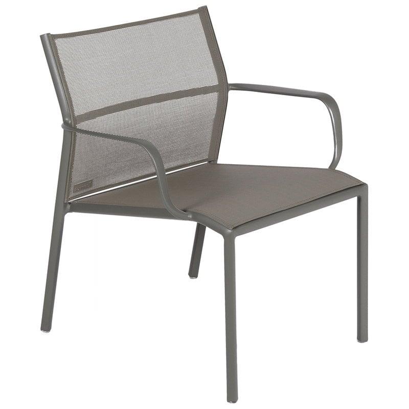 Fermob Cadiz low armchair, rosemary