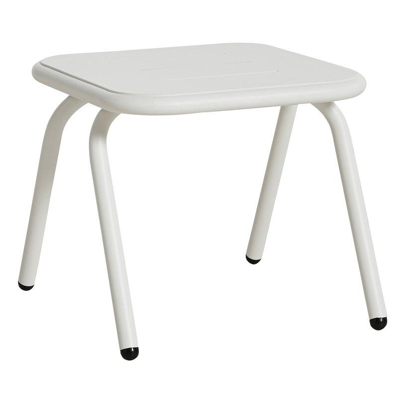 Woud Ray lounge pöytä 37 cm, valkoinen