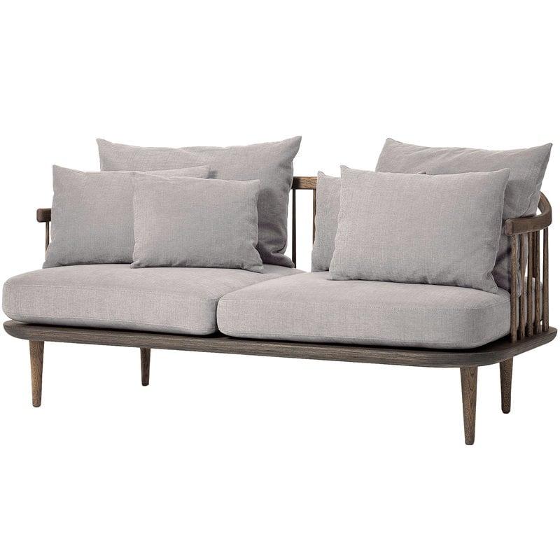 &Tradition Fly SC2 sofa, smoked oak - Hot Madison 094