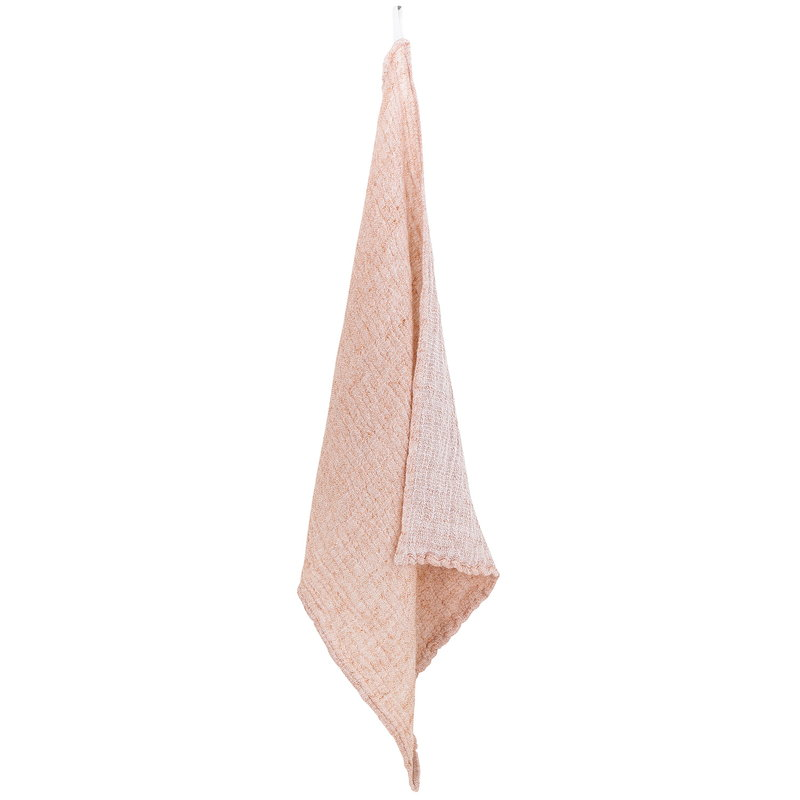 Lapuan Kankurit Nyytti hand towel, white - cinnamon