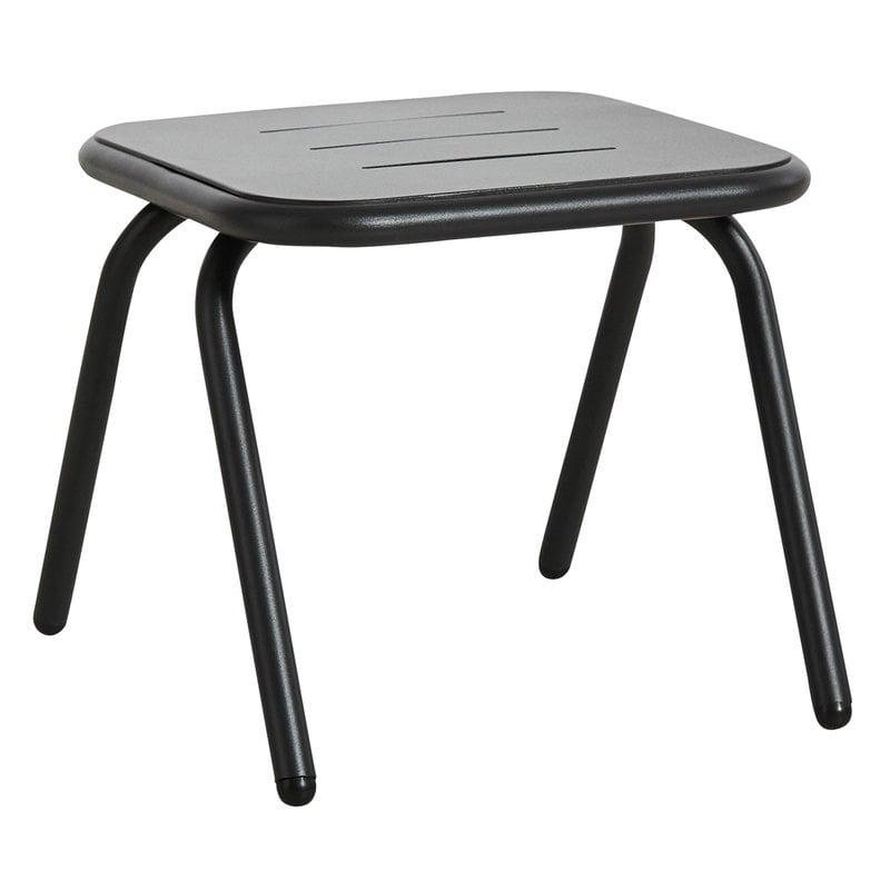 Woud Ray lounge pöytä 37 cm, hiilenmusta