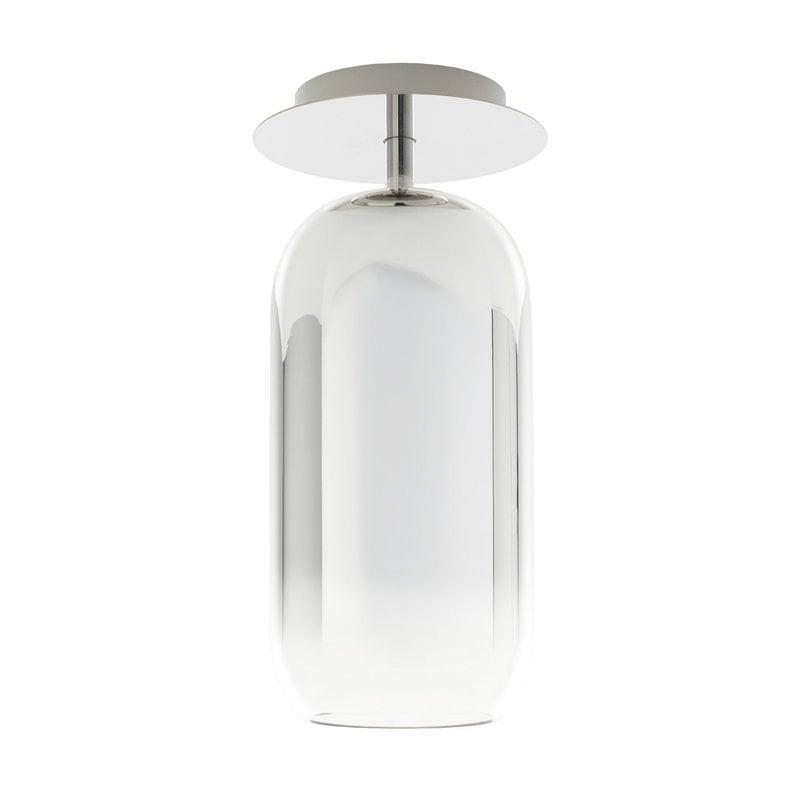 Artemide Gople Mini ceiling lamp, silver