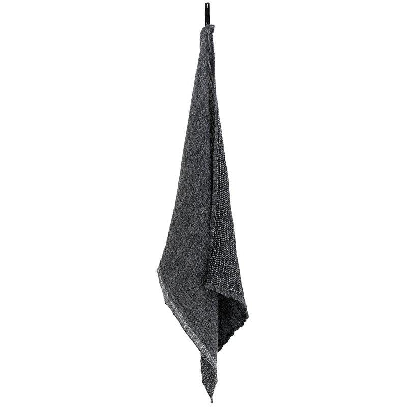 Lapuan Kankurit Nyytti hand towel, black - grey