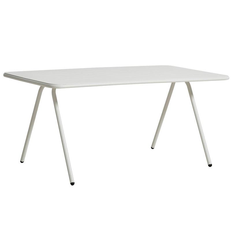 Woud Ray ruokapöytä 160 cm, valkoinen