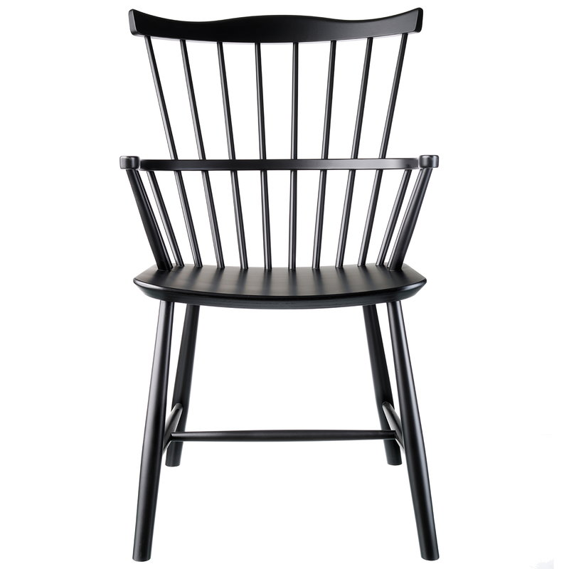 FDB Møbler J52B chair, black
