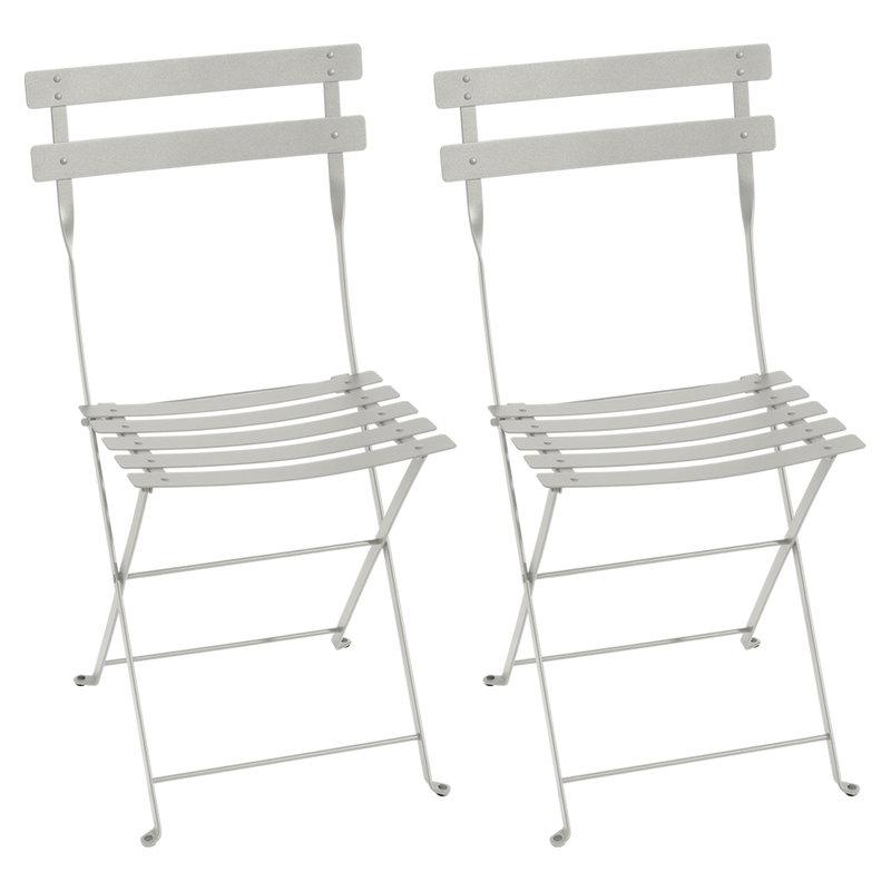 Fermob Bistro Metal tuoli, 2 kpl, clay grey