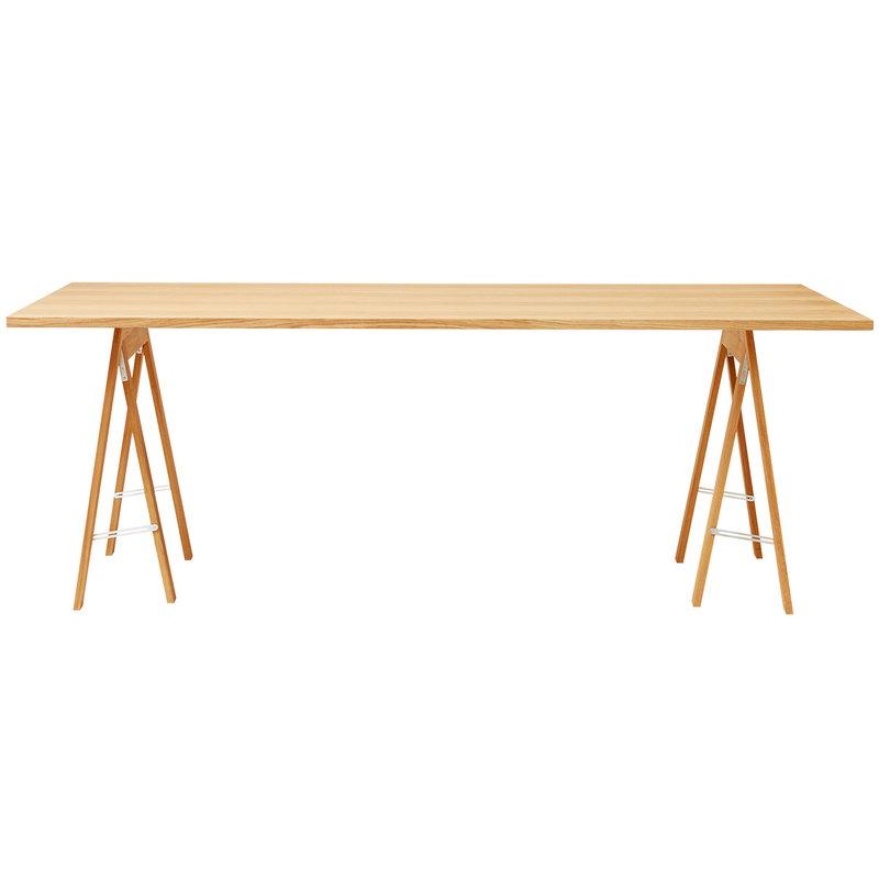 Form & Refine Linear table top, 205 x 88 cm, oak