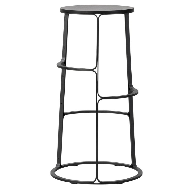 Miraculous Barbry Bar Stool Black Inzonedesignstudio Interior Chair Design Inzonedesignstudiocom