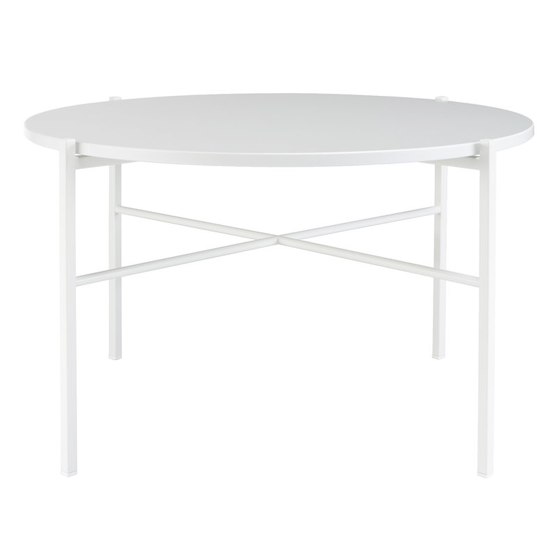 Hakola Round coffee table 70 cm, white