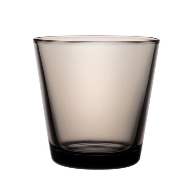 Iittala Kartio juomalasi 21 cl, hiekanvärinen, 2 kpl