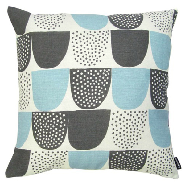 Kauniste Sokeri cushion cover, blue