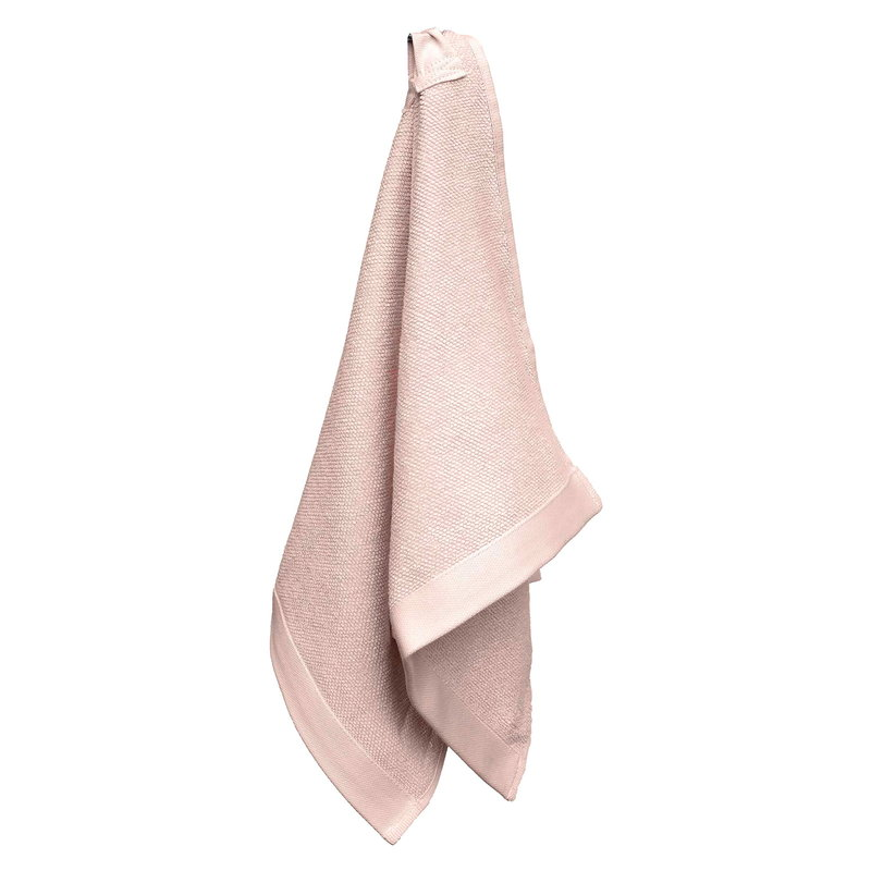 The Organic Company Everyday hand towel, pale rose