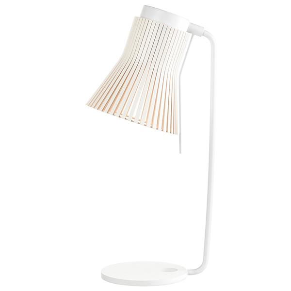 Secto Design Petite 4620 pöytävalaisin, valkoinen