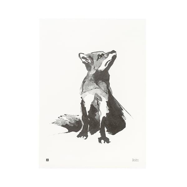 Teemu Järvi Illustrations Fox poster, 30 x 40 cm