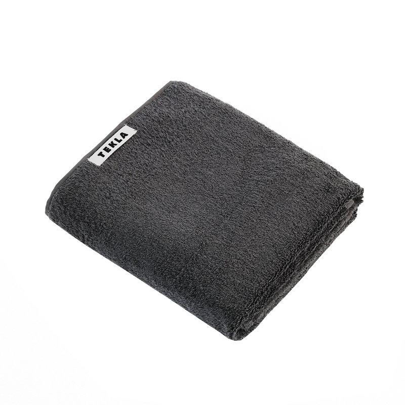 Tekla Guest towel, 30 x 50 cm, charcoal grey