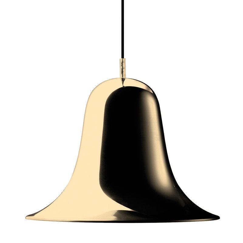 Verpan Pantop pendant 30 cm, brass