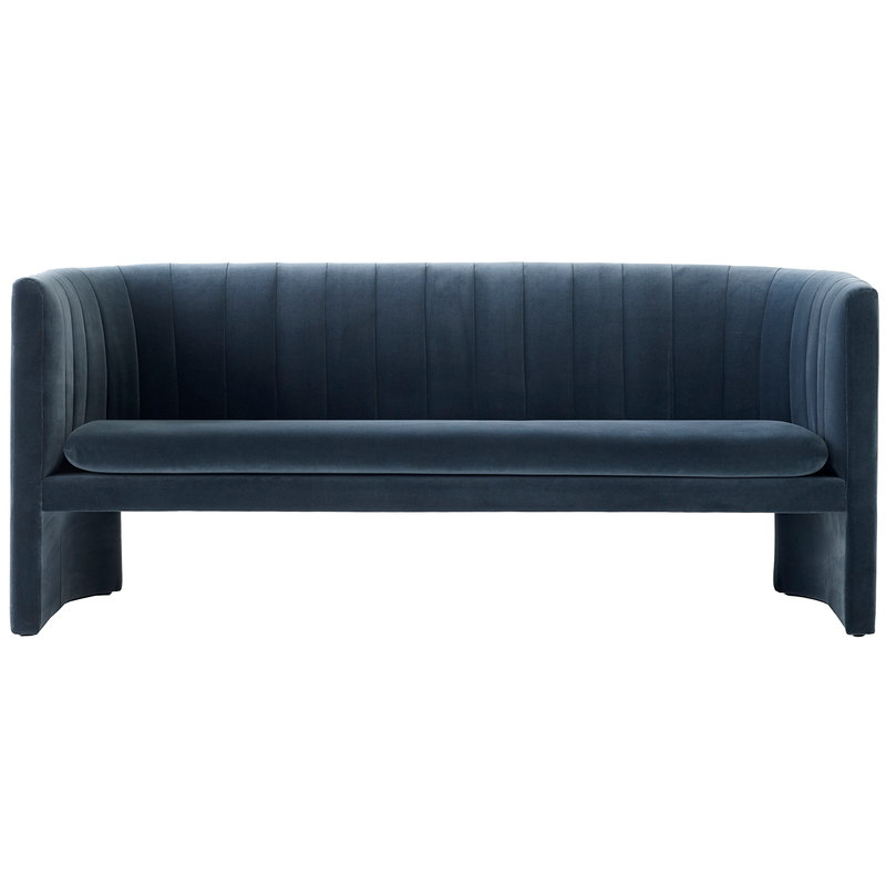 &Tradition Loafer SC26 sofa, Velvet 10 Twilight
