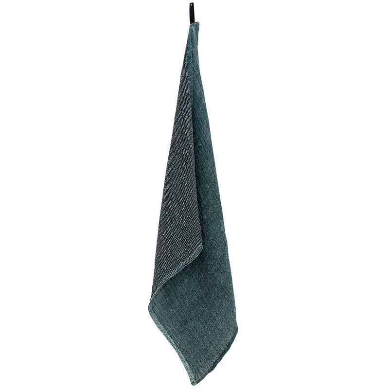 Lapuan Kankurit Nyytti käsipyyhe, musta - vihreä