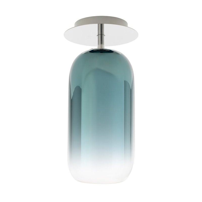 Artemide Gople Mini ceiling lamp, blue