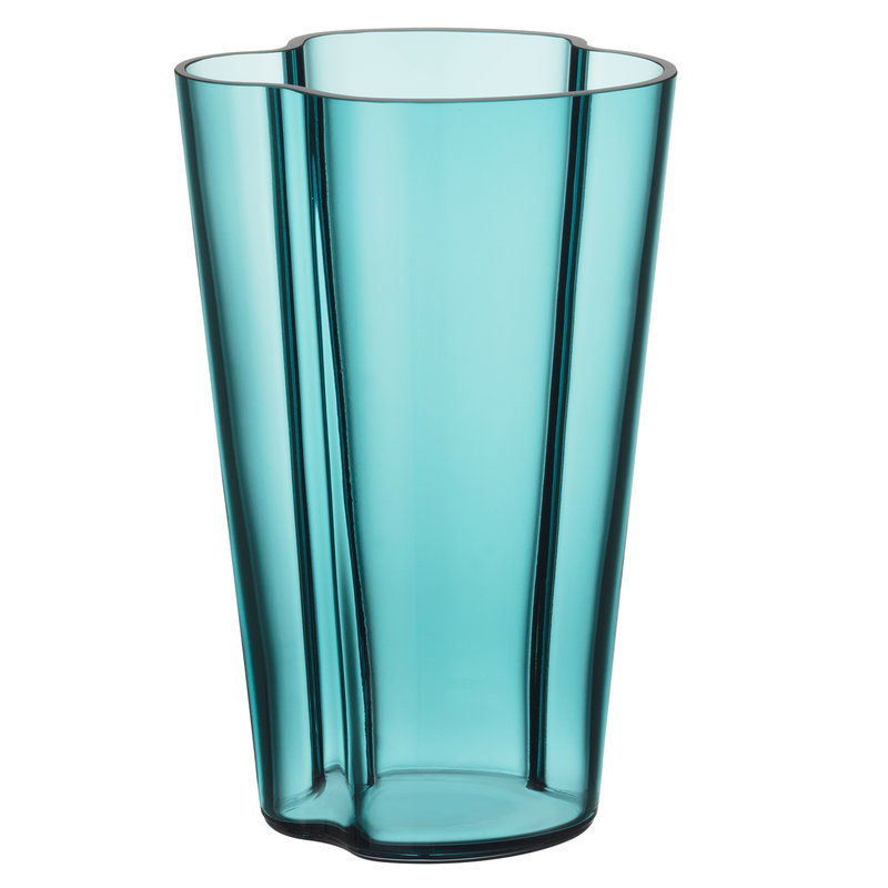 Iittala Vaso Aalto 220 mm, blu mare