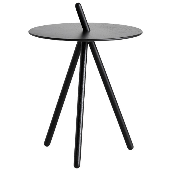 Woud Come Here side table, black