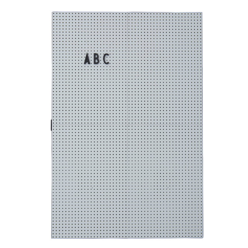 Design Letters Message board A3, light grey