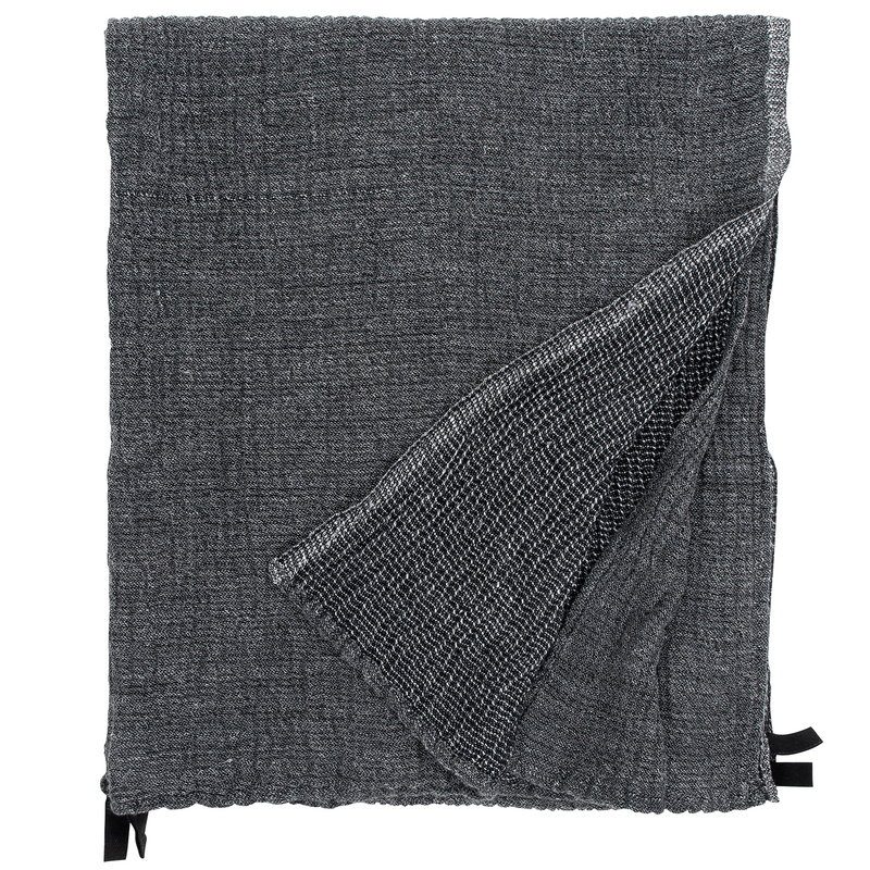 Lapuan Kankurit Asciugamano gigante Nyytti, nero - grigio