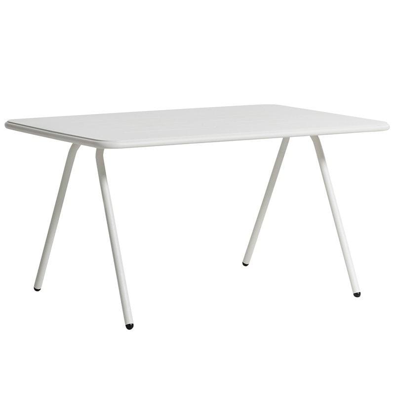 Woud Ray ruokapöytä 140 cm, valkoinen