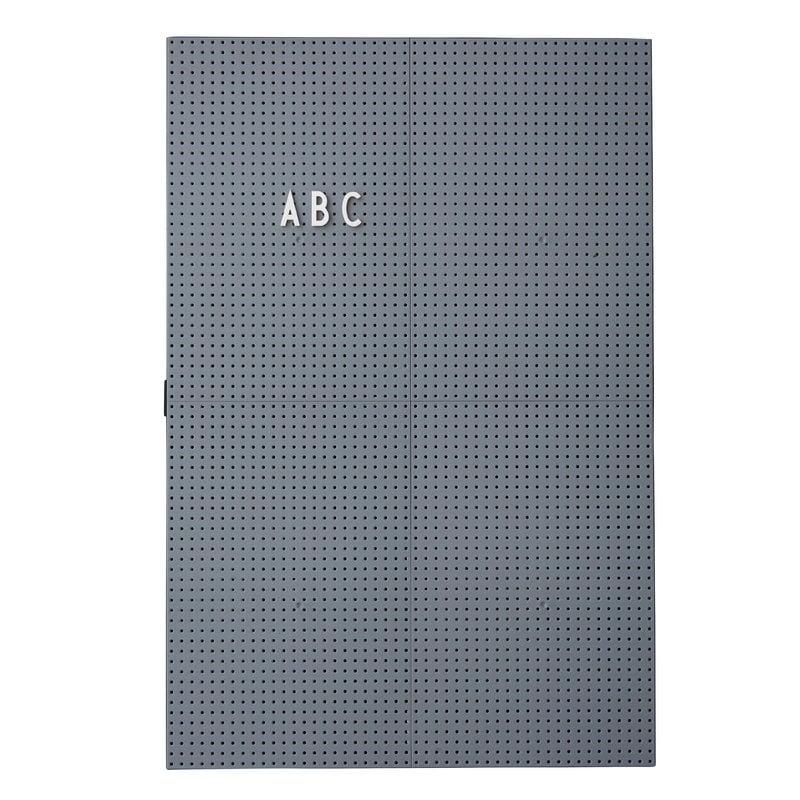 Design Letters Message board A3, dark grey