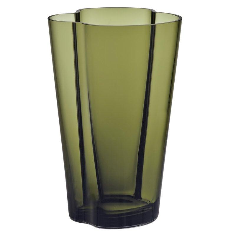 Iittala Vaso Aalto 220 mm, verde muschio