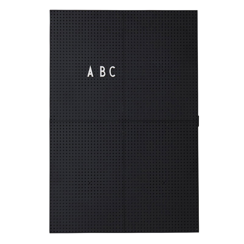 Design Letters Message board A3, black