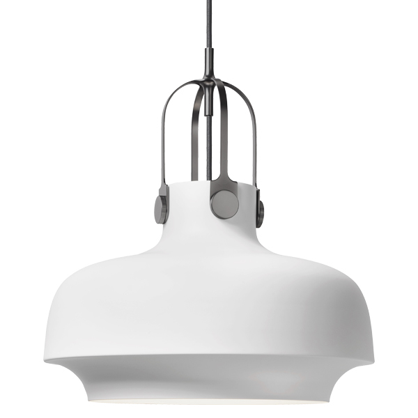&Tradition Copenhagen SC7 pendant, 35 cm, matt white