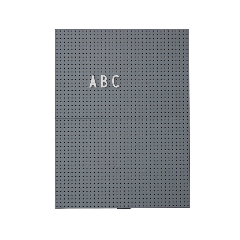 Design Letters Message board A4, dark grey