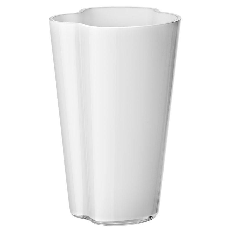 Iittala Aalto maljakko 220 mm, valkoinen