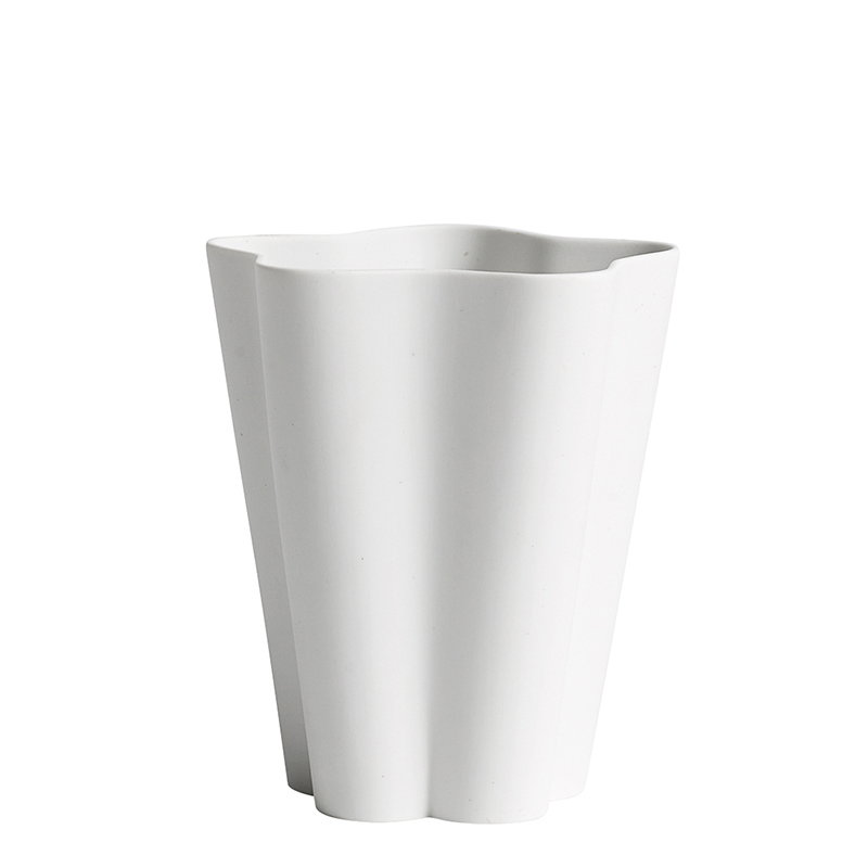Hay Vaso Iris, piccolo, bianco naturale