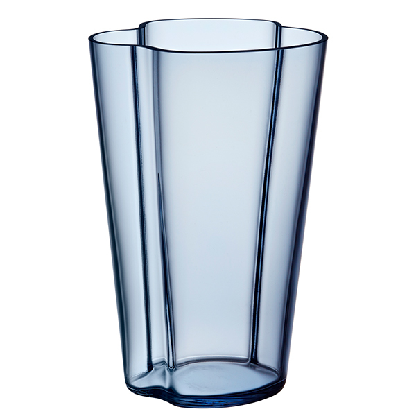 Iittala Aalto Vase 220 Mm Rain Finnish Design Shop