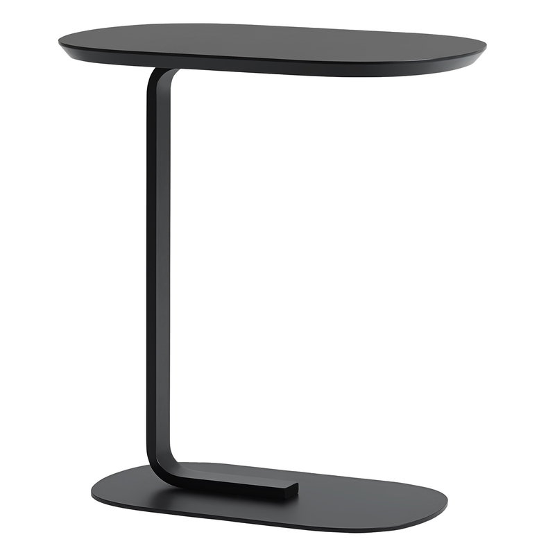 Muuto Relate side table, black