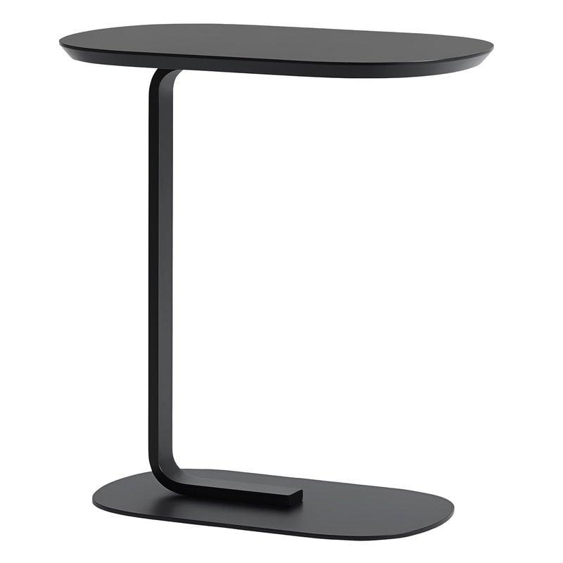 Muuto Relate sivupöytä, musta