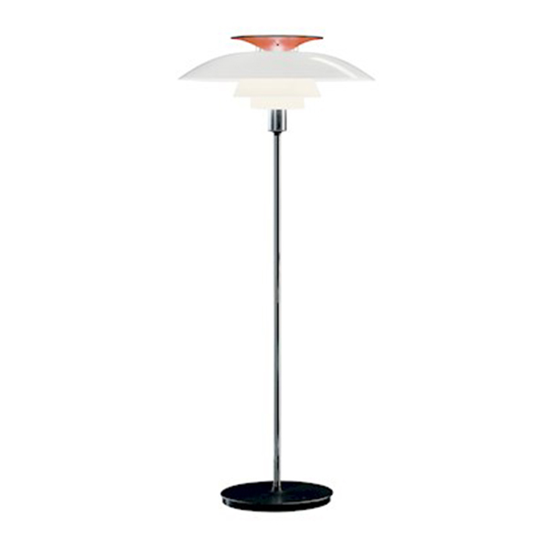Louis Poulsen PH80 floor lamp, opal white