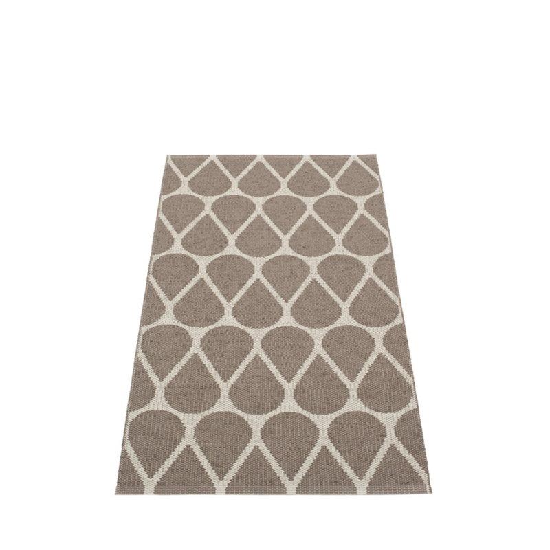 Pappelina Otis rug 70 x 140 cm, mud - linen