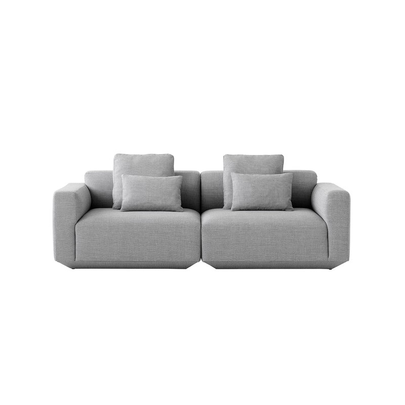 &Tradition Develius A modular sofa with cushions, Fiord 151