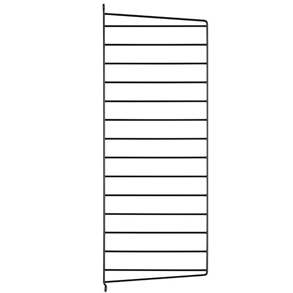 String String side panels 75 x 30 cm, 2-pack, black