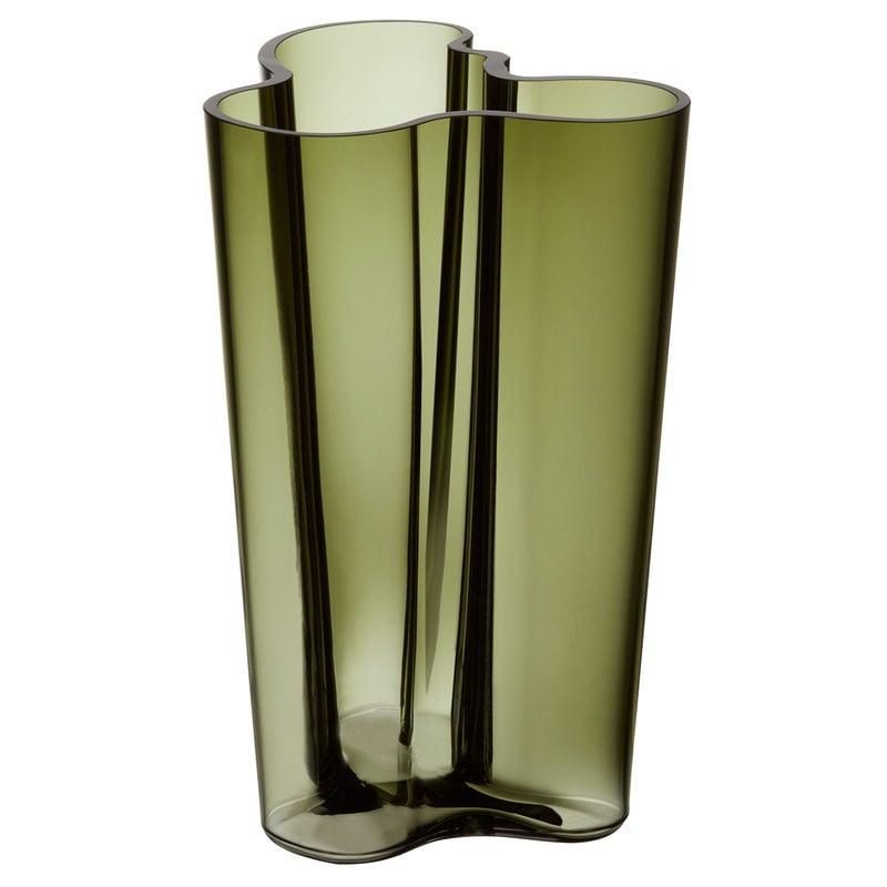 Iittala Aalto vase 251 mm, moss green