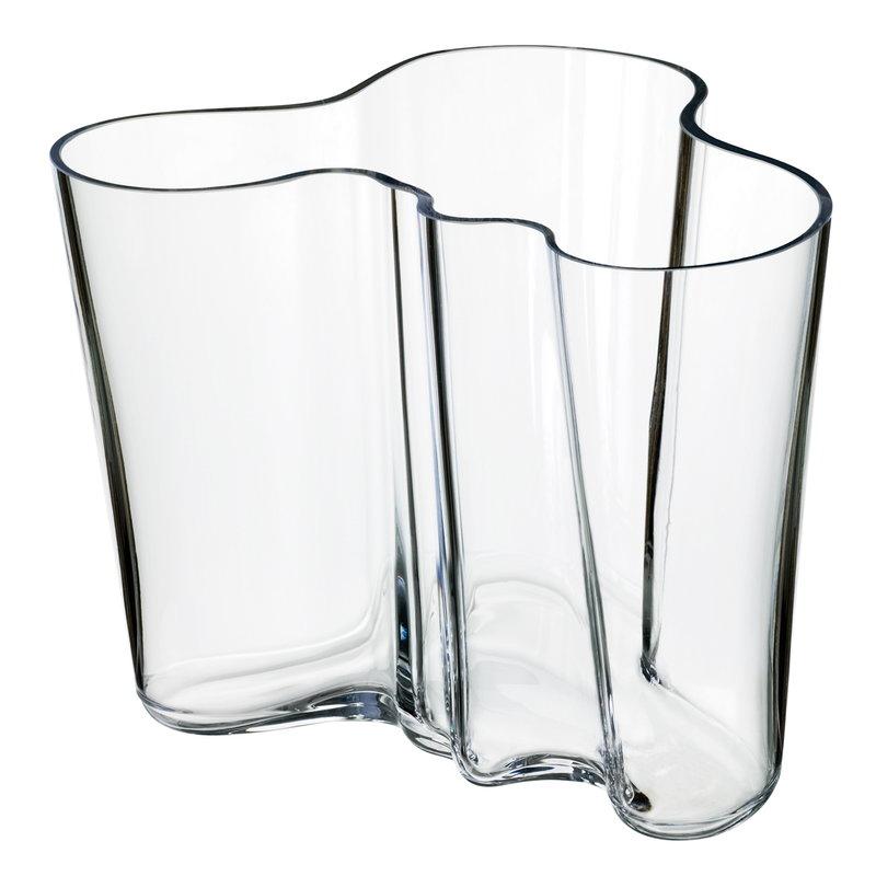 Iittala Vaso Aalto 160 mm, trasparente