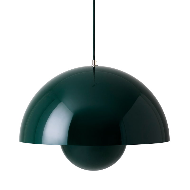 &Tradition Flowerpot VP2 pendant, dark green